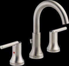 Trinsic Two Handle Widespread Lavatory Faucet with Metal Pop-up