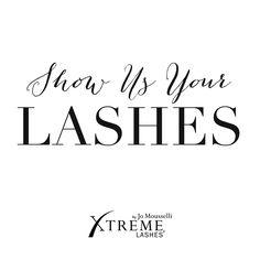 #xtremelashes #lashistas share with us your lash looks! #eyelashextensions…