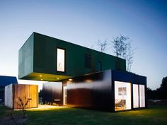 cool shipping containers houses