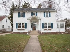 For sale: $164,900. Welcome to 1500 W Washtenaw, a classic American Colonial home loaded with charm and history.  Enter to a foyer area overlooking the center staircase with a large family room to the right, including plaster crown molding, a woodburning fireplace, and built-in bookshelf with arch.  The four season room includes windows on three sides and will make the perfect play room or home office.  The large dining room includes plenty of space for hosting Thanksgiving, while an…