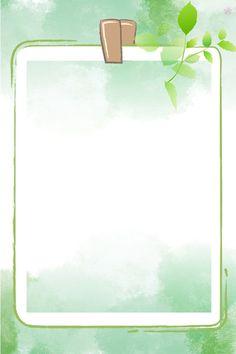Flower Background Wallpaper, Cartoon Background, Green Wallpaper, Watercolor Background, Simple Background Images, Simple Backgrounds, Flower Backgrounds, Wallpaper Backgrounds, Powerpoint Background Free