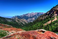 Wasatch Red Rocks jigsaw puzzle in Great Sightings puzzles on TheJigsawPuzzles.com