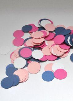confetti by mistyandme #pinkandblue