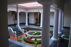 Courtyard of my home