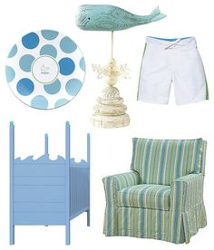 Beach theme nursery