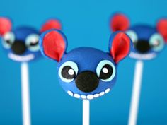 Sweet Disney Treats from Bakerella  -- Disney Character Cake Pops  cute sweet treat you could make for a gift! put into a custom Disney-themed basket and ta-da!