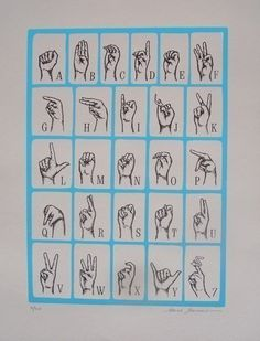 I wouldn't be opposed to the thought of learning sign language before I die...