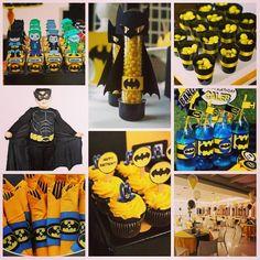 A festa com o tema #Batman é uma grande sensação entre os meninos. Afinal, quem nunca sonhou em ser um super-herói? O Batman é um dos justiceiros de histórias em quadrinhos mais conhecidos do mundo. Confira uma seleção de idéias que preparamos! A decoração completa você encontra aqui: http://www.aluafestas.com.br/aniversarios/temas-infantis/batman