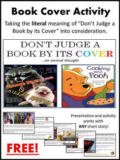 Don t judge a book by its cover picture