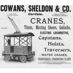Crane, Carlisle Cumbria, Westminster, Road Trips, Ephemera, Postcards, Printed, History, Antiques