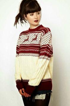 Farb-und Stilberatung mit www.farben-reich.com - Teen Christmas winter sweater | Fashion World