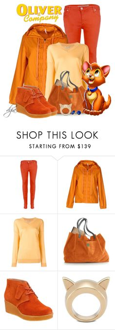 """""""Oliver and company-Disney inspired"""" by dgia ❤ liked on Polyvore featuring Victoria, Victoria Beckham, No Ka'Oi, STELLA McCARTNEY, Mark & Graham, Clarks and Marco Bicego"""