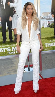 Ciara's All-White Outfit at 'That's My Boy' Premiere: Hit or Miss — Photo, Poll