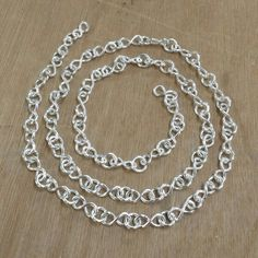 Argentium chain made by Carolyn White