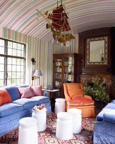 Home in Tuxedo Park, New York Elle Decor