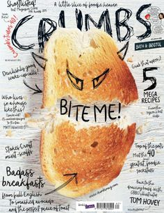 22 January Yummiest foodie magazine covers of Crumbs, August (Cool Fonts Doodles) Food Graphic Design, Food Poster Design, Menu Design, Food Design, Graphic Design Inspiration, Layout Design, Magazin Covers, Magazin Design, Magazine Cover Design