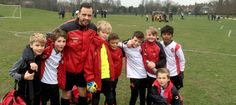 Dan Hart begins his coaching pathway at Kingswood Falcons FC through Join In
