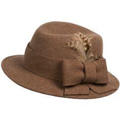 San Diego Hat Company Feather Fedora Hat - Wool Felt  #thebaggery #cha #chattanooga #shoplocal