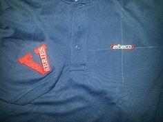 Custom embroidery Elbeco V1 Polo