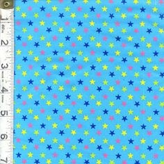 Stars by Cosmo Textiles ~ A great alternative to the basic polka dot! Follow this pin to the Fabric Shack to see all the color combinations!
