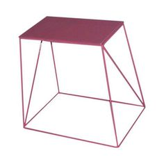Mesa Lateral XsR Pink Pink, Furniture, Home Decor, Shopping, Furniture For Living Room, Tray Tables, Decoration Home, Room Decor, Home Furnishings