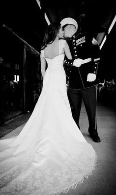 #marine and his #bride