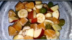 Best Fruit Salad, Fries Recipe, Large Skillet, Sliced Potatoes, Garlic Salt, Large Bowl, French Fries, Recipes, Food