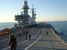 The Cavour is one of Italy's two aircraft carriers and will host the F-35 JSF