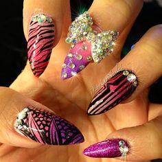 Pink!!! Rhinestones & Bows