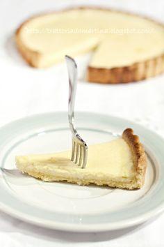 Cheese tart al limone - Trattoria da Martina - cucina tradizionale, regionale ed etnica