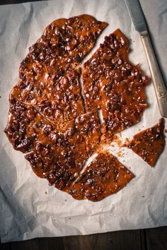 Bacon Bourbon Brittle | for the love of the south