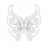 Butterfly stencil or embroidery patterns more – Artofit Butterfly Stencil, Butterfly Template, Butterfly Crafts, Butterfly Pattern, Butterfly Art, Crown Template, Butterfly Mobile, Heart Template, Flower Template