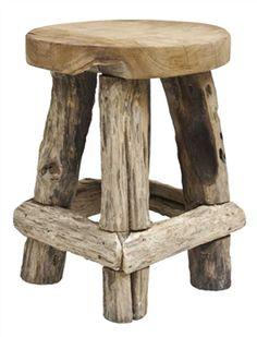 Wood Stool ~