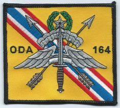 US Army B Co 1st Special Forces Group ODA 1226 SFODA Team Patch 2nd Battalion