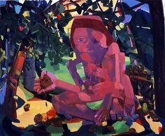 Dana Shutz. Eye-Eater. 2004. Oil on canvas.