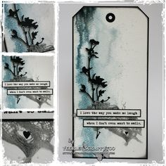 Smile, mixed media, art journaling, Pébéo acrylic ink, coldfoiling, metalfoil, Tim holtz flowers, quote