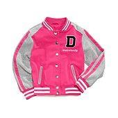 Dollhouse Girls' or Little Girls' Varsity Jacket