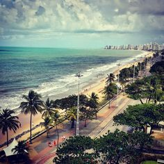 Beautiful sea of Brasil by The Beach, Miami Beach, Seaside, Serenity, Summertime, Beautiful Places, Ocean, River, Explore