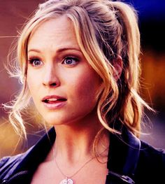 Candice Accola as Caroline Forbes.... I love this girl!!!