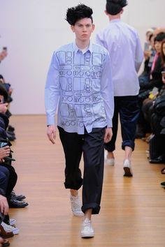 Comme des Garcons Shirt Fall 2015 Invierno #Menswear #Trends #Tendencias #Moda Hombre