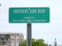 Bee Gees Blvd.
