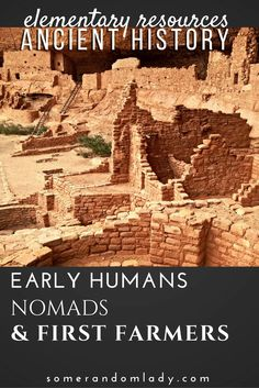 Elementary Ancient History Resources including books and activities, playlists, and online resources covering nomads, the Fertile Crescent, and ancient Mesopotamia.Click through for a big list of resources for your ancient history unit studies.