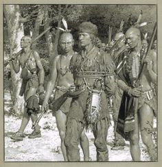 """Daniel Boone Captured by the Indians"" from Britannia & Eve, circa 1938. Wonderful painterly original in pencil, inkwash & white measures 9x9 inch image area on larger grey board. SOLD"