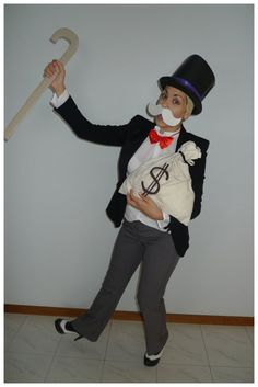 Day 224: Rich Uncle Pennybags #Monopoly #costume. Theme Me is a blog that follows a personal challenge to dress to a different theme every day for a whole year.
