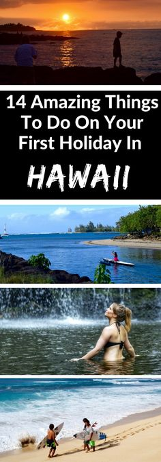 14 Amazing Things To Do On Your First Holiday In Hawaii. From discovering secret waterfalls and stargazing, to checking out the epic surf and catching a glimpse of an erupting volcano, Hawaii is full of surprises!