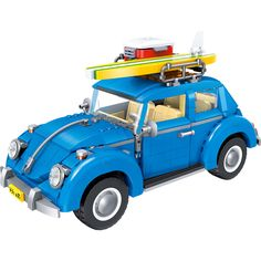 1167pcs Creator Series City Car Bricks Volkswagen Beetle Model Building Blocks Board Marvel Compatible Legoe Toys for Children