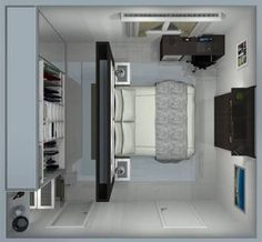 42 Trendy Master Bedroom Closet Behind Bed Decorating Ideas Bedroom Closet Design, Master Bedroom Closet, Bedroom Wardrobe, Closet Designs, Home Bedroom, Master Bedrooms, Closet Behind Bed, Walk In Closet, Working Wall