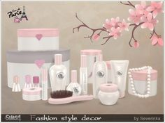 The Sims Resource: Fashion style decor by Severinka • Sims 4 Downloads