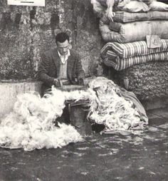Napoli - materassaio 1969 #TuscanyAgriturismoGiratola