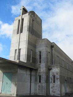 Snt Paul's Anglican Church, Wairoa 1958. Futchy built this...